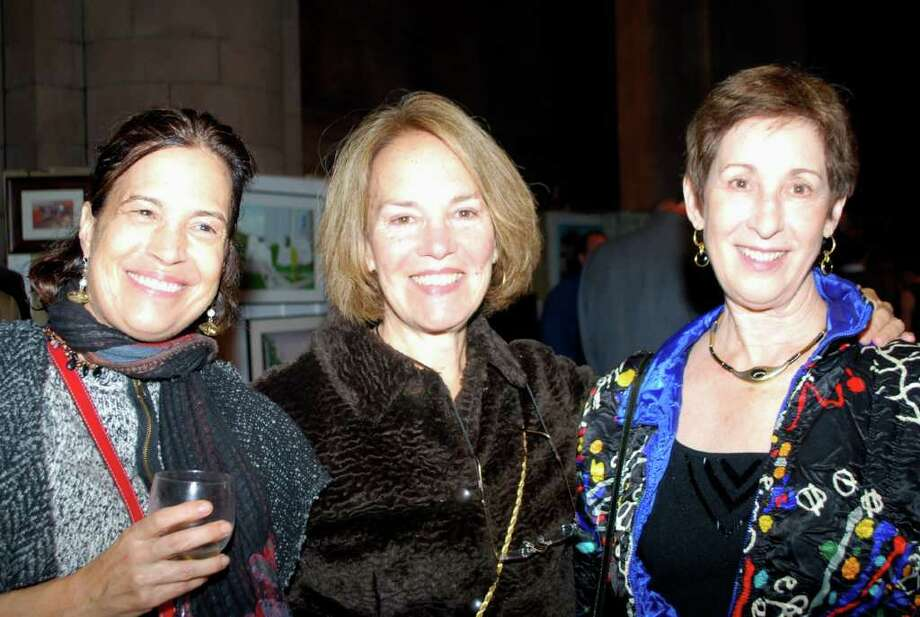 "Were you Seen at Historic Albany Foundation's ""BUILT: Albany's Architecture Through Artists' Eyes"" benefit on Saturday, Nov. 5, 2011? Photo: Silvia Meder Lilly"