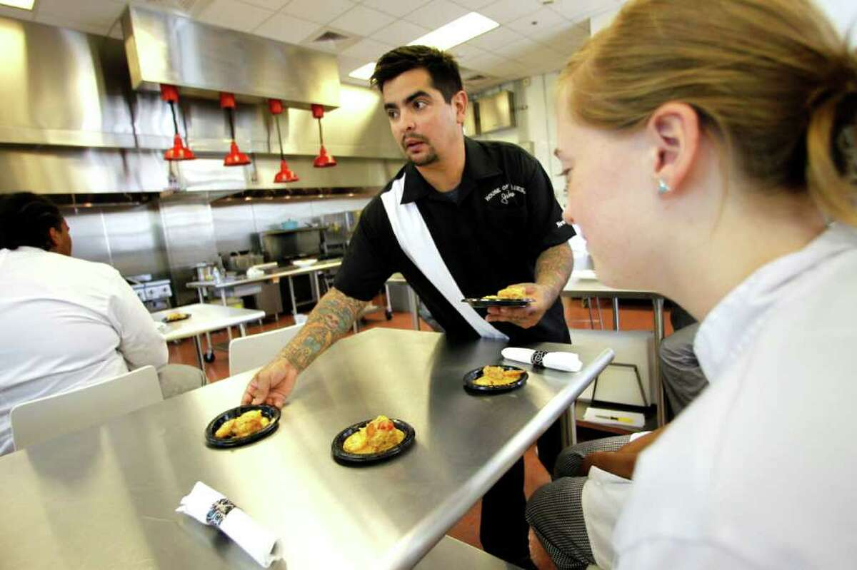 Celebrity chef Aaron Sanchez, one of the judges on the Food Network's