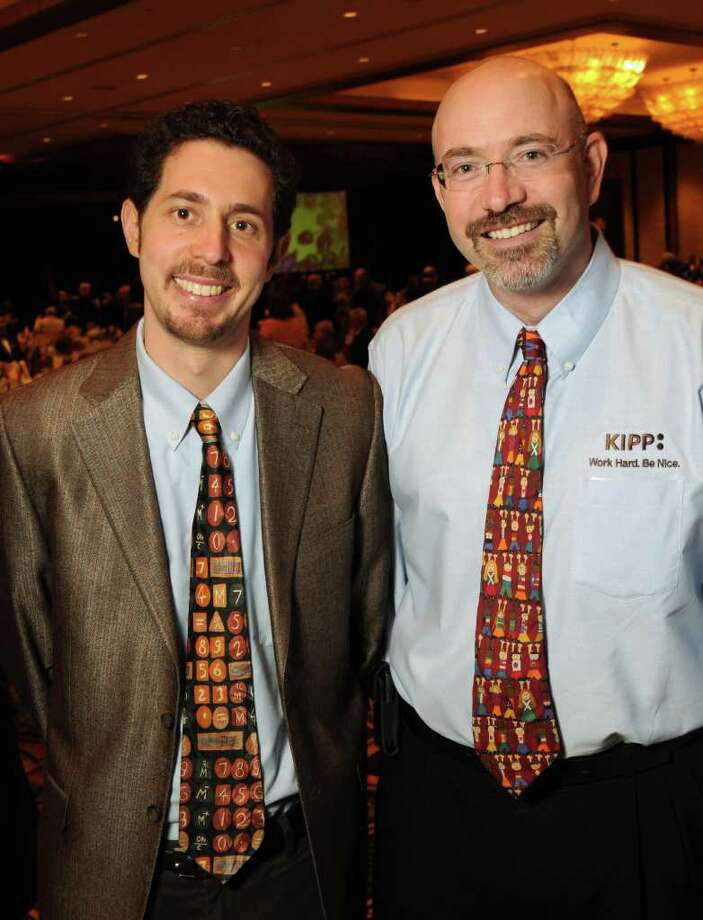 Honorees Dave Levin and Mike Feinberg Photo: Dave Rossman / © 2011 Dave Rossman