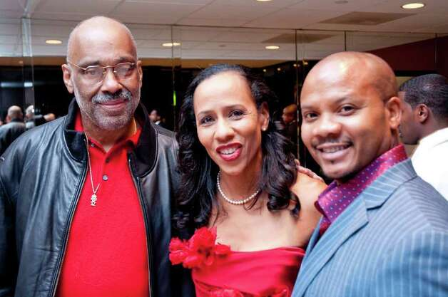 Danny Simmons, Gina Carroll and Andre Guichard Photo: Grady Carter