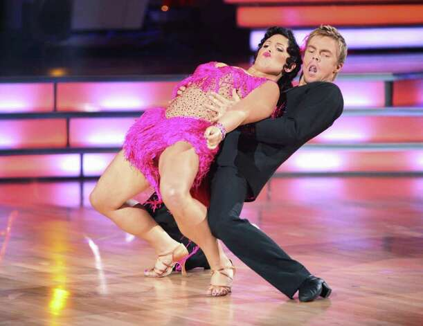 "DANCING WITH THE STARS - ""Episode 1302"" - ""Dancing with the Stars,"" (ABC/ADAM TAYLOR) DEREK HOUGH, RICKI LAKE Photo: (ABC/ADAM TAYLOR), ABC / © 2011 American Broadcasting Companies, Inc. All rights reserved."