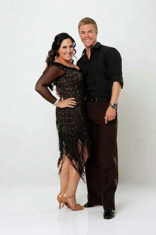 "DANCING WITH THE STARS - RICKI LAKE & DEREK HOUGH -- Poised to return to daytime television with the all-new ""The Ricki Lake Show"" in the fall of 2012, Ricki Lake is a pop culture icon who has built a career on her candid, ""straight talk"" sensibility and her authentic, relatable nature. She joins three-time champ DEREK HOUGH, who returns for his 8th season. A dynamic lineup of stars will take the stage performing either the Cha Cha Cha or The Viennese Waltz for the two-hour season premiere of ""Dancing with the Stars,"" MONDAY, SEPTEMBER 19 (8:00-10:01 p.m., ET) on the ABC Television Network. (ABC/CRAIG SJODIN) Photo: Craig Sjodin, ABC / © 2011 American Broadcasting Companies, Inc. All rights reserved."