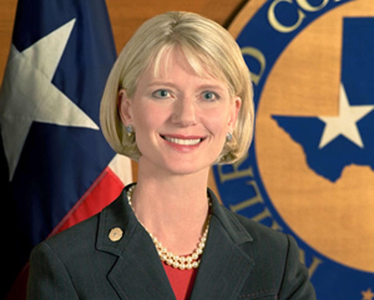 Elizabeth Ames Jones: Currently railroad commission chairwoman.