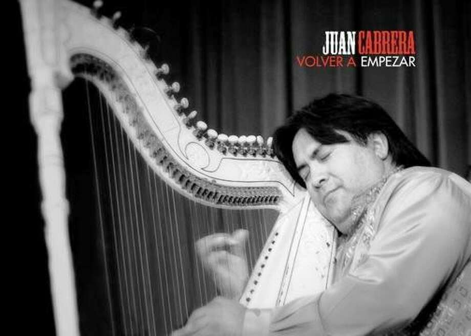 Cover of new CD by Harpist Juan Cabrera Photo: Courtesy Photo