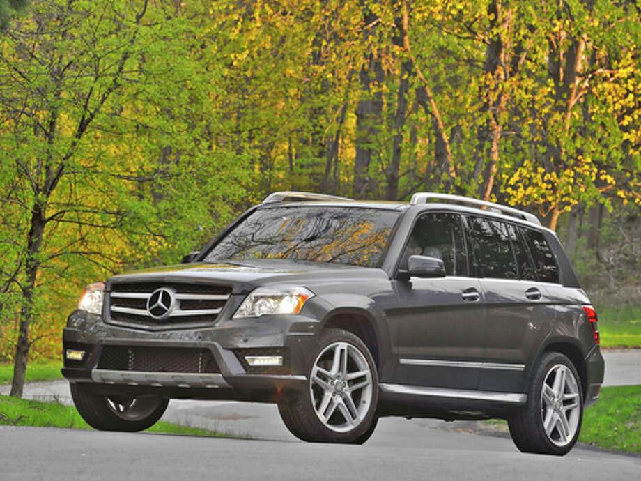 2012 Mercedes-Benz GLK350 (photo courtesy Mercedes-Benz) Photo: MBUSA / © 2010 Mercedes-Benz USA