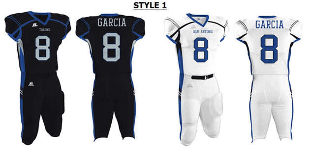 San Antonio Talons uniform design Photo: Courtesy Image