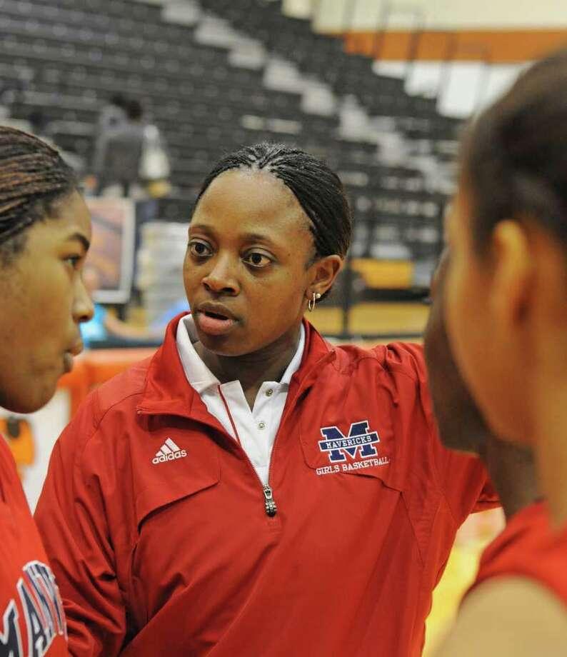 Manvel girls basketball coach Fleceia Comeaux Photo: L. Scott Hainline / For The Chronicle