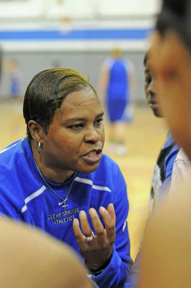 Clear Springs girls basketball coach Pam Crawford Photo: L. Scott Hainline / For The Chronicle
