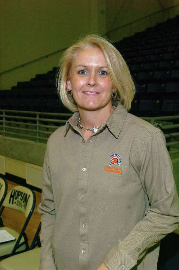Seven Lakes varsity girls basketball coach Angela Spurlock Photo: Eddy Matchette / freelance
