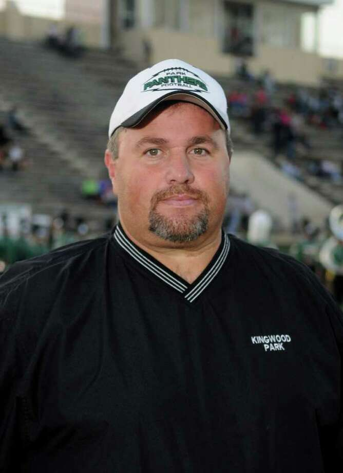 KIngwood Park head coach Jim Holley Photo: Jerry Baker / Freelance