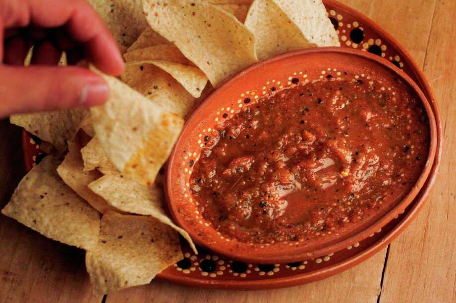 Ninfa's on Navigation recently launched a line of their popular salsas. Photo: Mayra Beltran / © 2011 Houston Chronicle