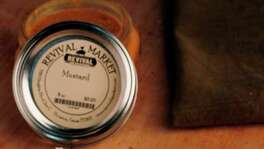 Hand-made: If you like the mustard Revival Market serves on its sandwiches, you can take it home in a jar.