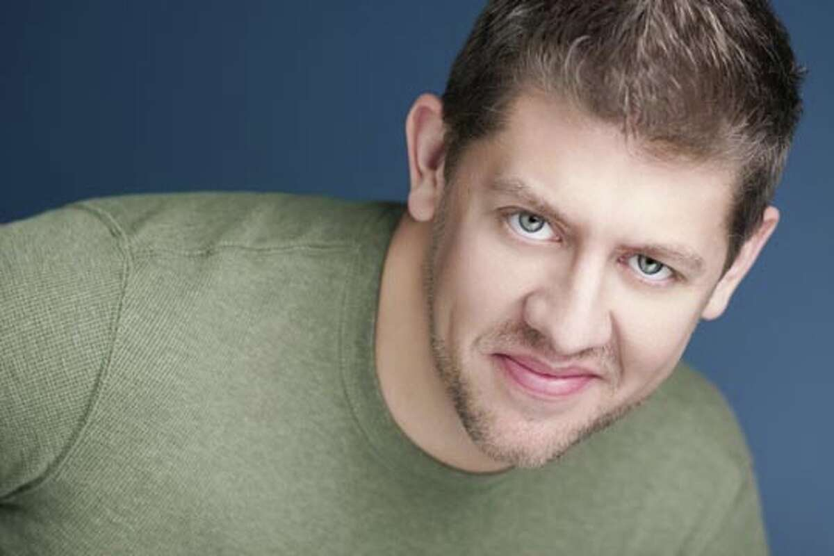 Daniel C. Levine, shown here, and his partner, Matt Farnsworth, will team up with four other Broadway performers Friday to present Broadway Backstage at the Ridgefield Playhouse. The show will feature live renditions of songs from popular musicals the actors have starred in, such as ìMomma Mia,î ìWicked,î and ìChicago.î Actors and actresses will also give audience members an inside peek into the world of Broadway.