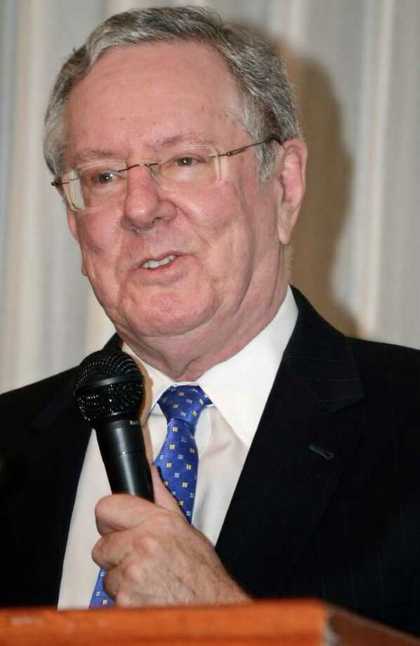 Quinnipiac University's Undergraduate Commencement ceremony on May 18 will feature Steve Forbes, Chairman and Editor-in-Chief of Forbes Media (pictured); John Feal, founder of the FealGood Foundation; and Andrew Jenks, an award-winning filmmaker as speakers.  Photo: Danny Zaragoza / LAREDO MORNING TIMES