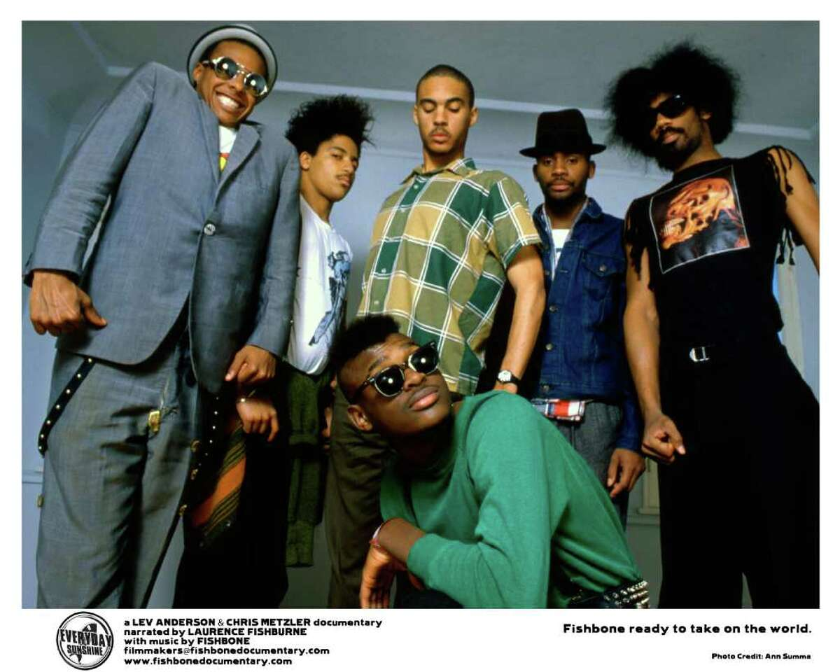A new documentary about the cult band Fishbone will be getting its local premiere Tuesday Nov. 15 at the Bijou Theatre in Bridgeport.