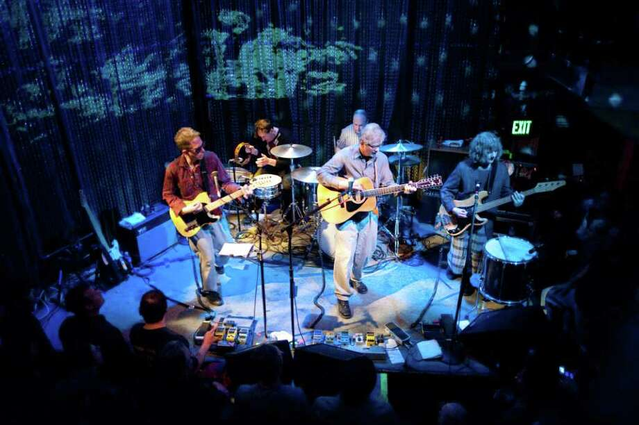 The Feelies performing live in March 2009 at Johnny Brenda's in Philadelphia. (Doug Seymour)