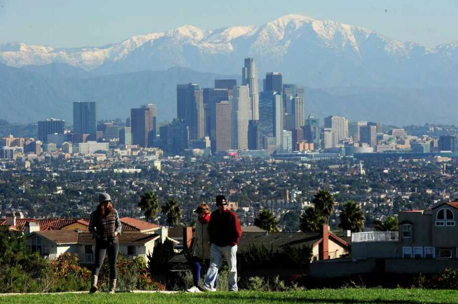 7. Los Angeles:-1.3 percent net absorption as percent of inventory in 2012, with a vacancy rate of 17.8 percent and a 0.9 percent increase in rent from 2011. Photo: ROBYN BECK, AFP/Getty Images / 2010 AFP