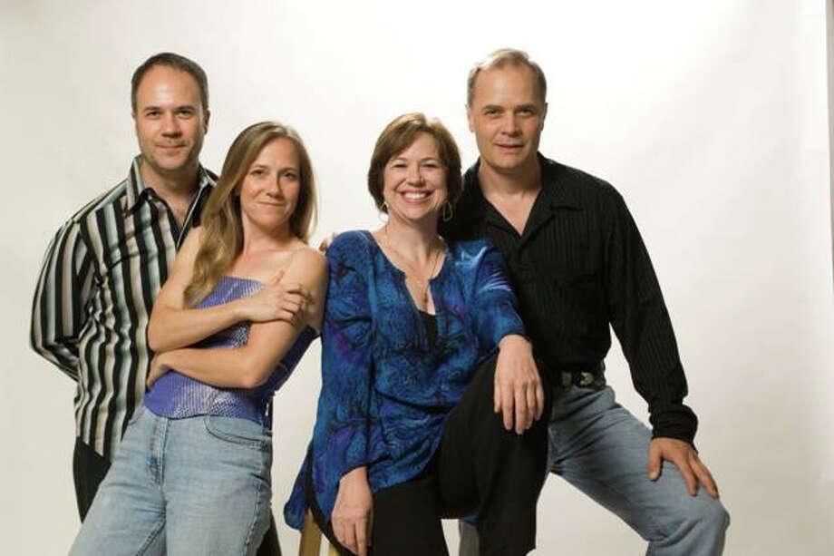 The SOLI Chamber Ensemble is Ertan Torgul (from left), Stephanie Key, Carolyn True and David Mollenauer. Photo: COURTESY SOLI CHAMBER ENSEMBLE