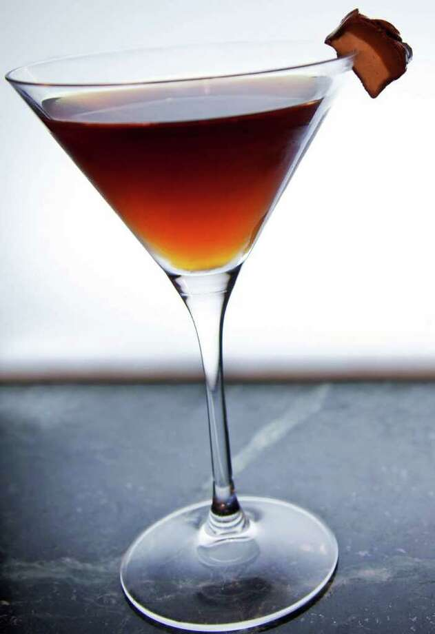"Red Hot Santa-tiniThis is a different kind of ""hot chocolate"" drink. It consists of chocolate liqueur and for the ""hot"" part it calls for cayenne pepper and Thai chilies. It may be chilled, but the drink is certainly going to be hot.  Photo: Van Gogh Vodka"