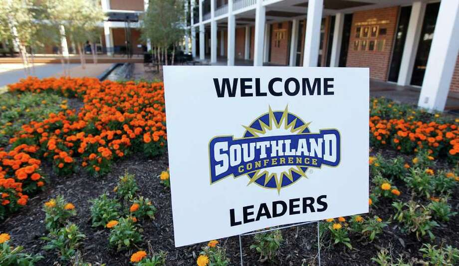 Southland Conference officials toured the HBU campus on Nov. 9. Photo: Karen Warren, Houston Chronicle / © 2011 Houston Chronicle