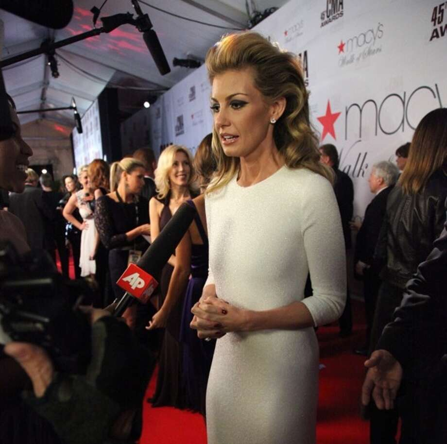 BEST: Faith Hill Photo: Associated Press