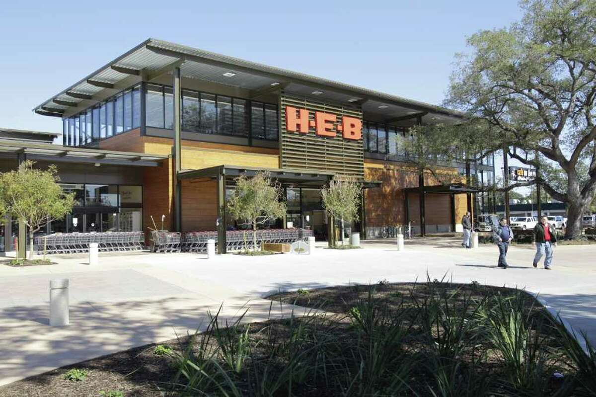 Melissa Phillip : Chronicle MOST EXPENSIVE H-E-B EVER: The design of the chain's store at 1701 W. Alabama pays tribute to the nearby Menil Collection. It is the first H-E-B with an outdoor market area and a patio for movies and live music.
