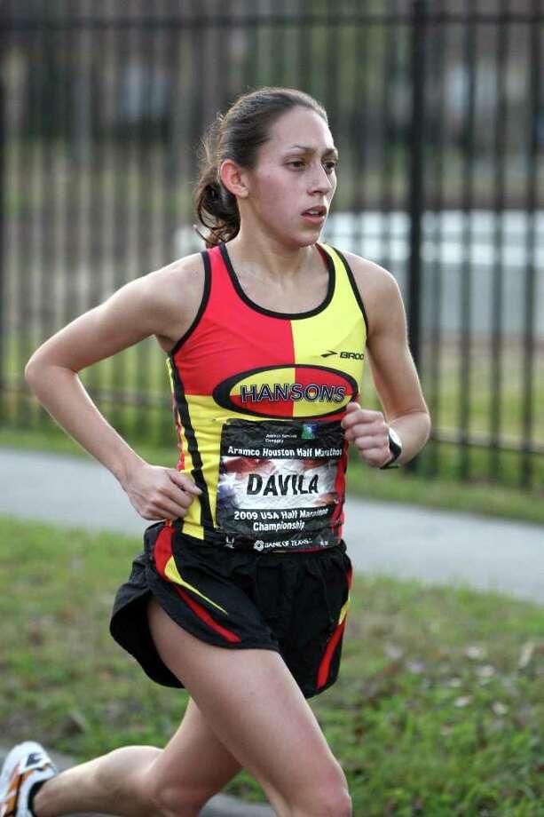 PHOTORUN.NET FRONT-RUNNER: Desiree Davila was the fastest women's qualifier for the U.S. Olympic Marathon Trials to be held Jan. 14 in Houston. Photo: Handout