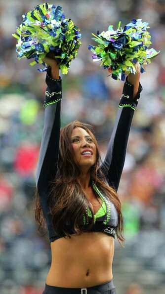 SEATTLE, WA - SEPTEMBER 25:  The Seagals perform prior to the game between the Arizona Cardinals and
