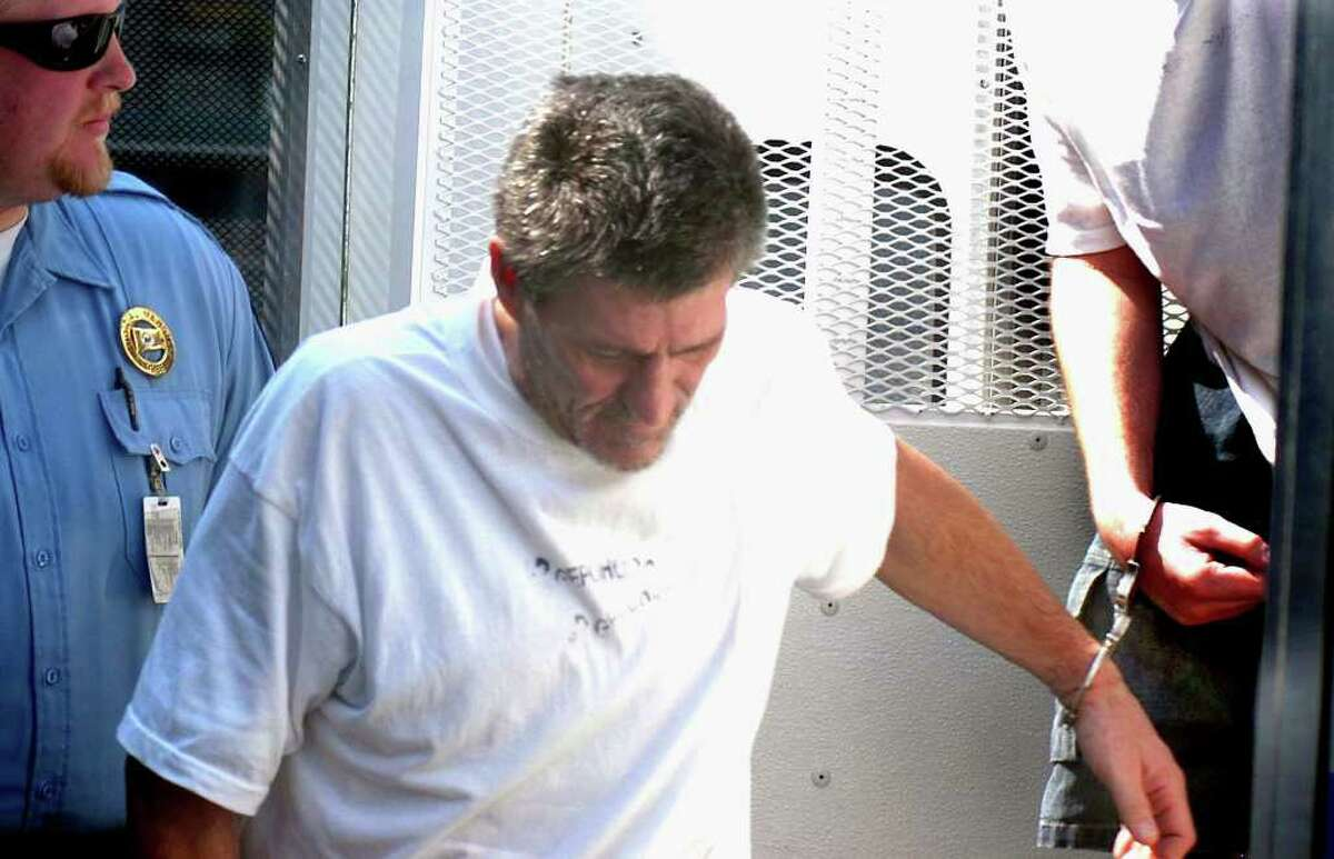 James O'Neill, the Bethel man accused in the hit-and-run death of Danbury police officer Donald Hassiak, was sentenced to 14 years Thursday. He is seen here in a July file photo.