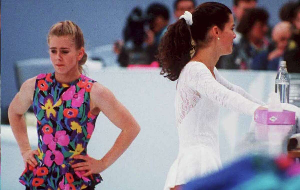 Tonya Harding and Nancy Kerrigan, Figure Skating Before the 1994 U.S. Figure Skating Championships, Harding's ex-husband and bodyguard hired a man to attack rival skater Nancy Kerrigan. Kerrigan was forced to withdraw from the national championships with an injured leg, and Harding went on to take first place. The incident caused a worldwide media frenzy. Harding later admitted that she had helped cover up the attack. She was stripped of her championship title and banned from all future US Figure Skating Association events. And after all that, Kerrigan still won the silver at the 1994 Olympics - Harding failed to medal.