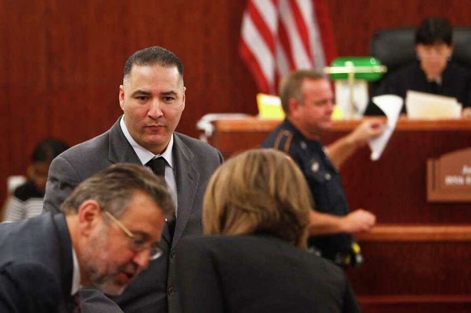 Gregory Longoria Jr.  will have to serve at least 15 years before he is eligible for parole. Photo: Michael Paulsen / © 2011 Houston Chronicle
