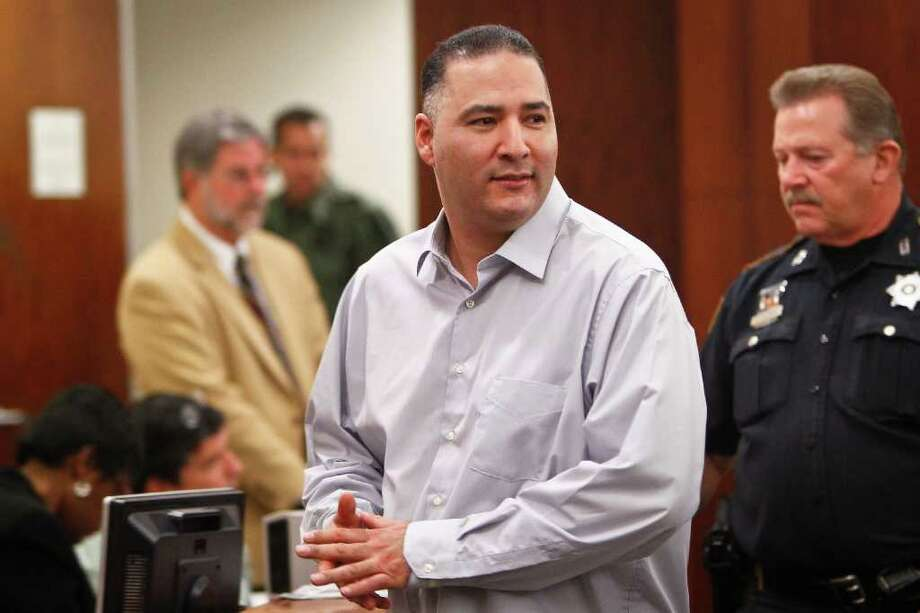 Gregory Longoria Jr., shown in court on Nov. 10, could get life in prison if he's convicted. Photo: Michael Paulsen / © 2011 Houston Chronicle