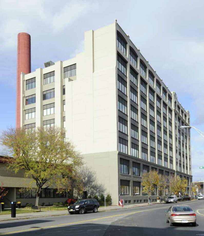The Hedley Building at 433 River Street in Troy, N.Y. November 10, 2011, may lose some of the it's New York State office tenants after an announcement that they will be moving to vacant space in State office buildings in Albany.   (Skip Dickstein/Times Union) Photo: Skip Dickstein / 00015360A