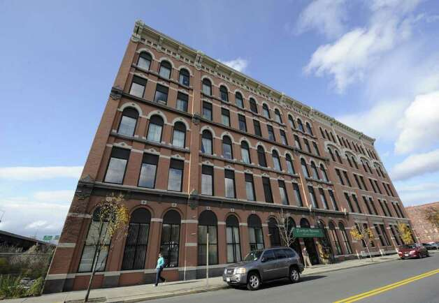 The Flanigan Building at 547 River Street in Troy, N.Y. November 10, 2011, may lose some of the it's New York State office tenants after an announcement that they will be moving to vacant space in State office buildings in Albany.   (Skip Dickstein/Times Union) Photo: Skip Dickstein / 00015360A