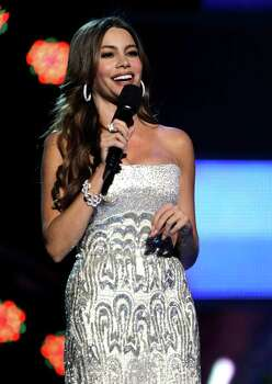 Sofia Vergara speaks onstage at the 12th Annual Latin Grammy Awards on Thursday Nov. 10, 2011 in Las Vegas. (AP Photo/Julie Jacobson) Photo: Julie Jacobson / AP