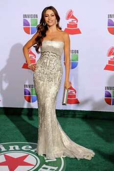 Sofia Vergara arrives at the 12th Annual Latin Grammy Awards on Thursday Nov. 10, 2011 in Las Vegas. (AP Photo/Chris Pizzello) Photo: Chris Pizzello / AP