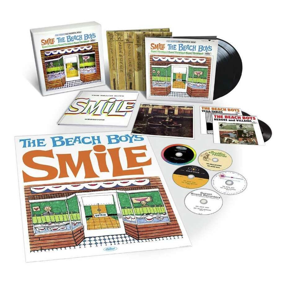product shot for the deluxe edition of SMiLE, an album by the Beach Boys Photo: Capitol Records