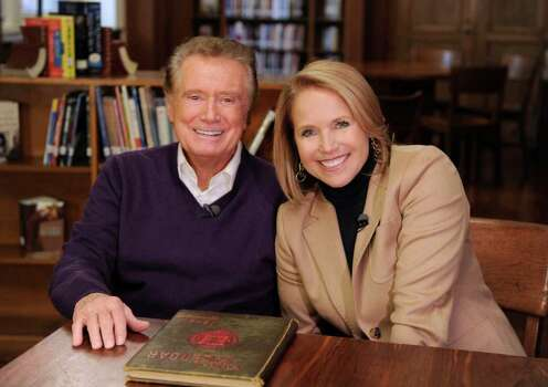 IDA MAE ASTUTE : ABC special edition of 20/20: Katie Couric chronicles Regis Philbin's life on the eve of his departure from morning television at 7 p.m. Thursday on ABC. Photo: Ida Mae Astute / ©2011 American Broadcasting Companies, Inc.  All rights reserved.