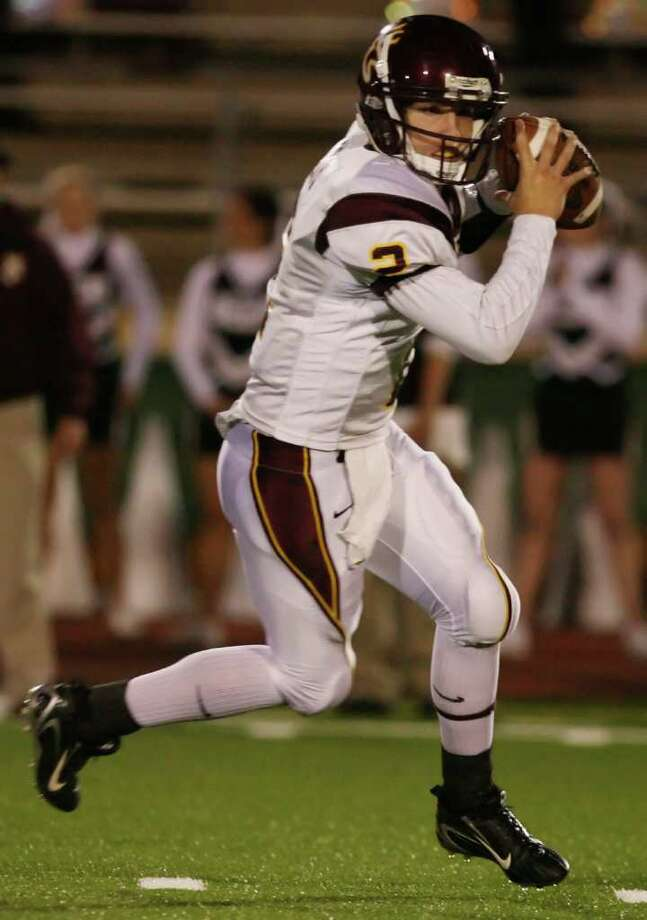 Deer Park Deer QB Hans Cook, seen here in 2007. Special to the Chron: Thomas Shea Photo: Thomas Shea, For The Chronicle / Freelance
