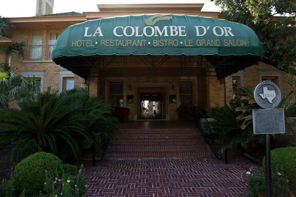 La Colombe d'Or Hotel Friday, April 15, 2011, in Houston.