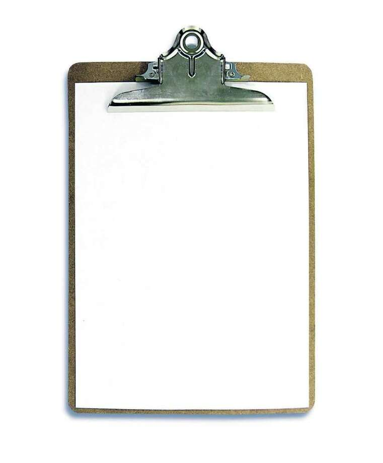 A photo of a blank clipboard          from Fotolia Photo: Stephen Coburn / Stephen Coburn