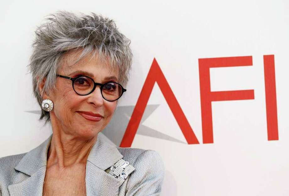 ASSOCIATED PRESS TALENT: Rita Moreno says she's happy to see so many more Hispanic faces and names in film. Photo: Matt Sayles / AP2011