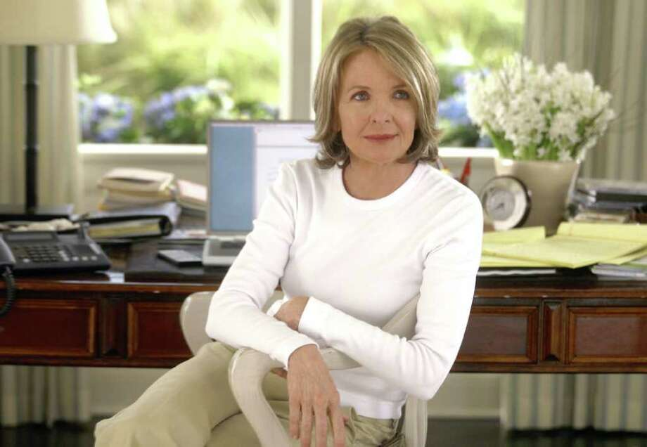 4- SGG-059 -   Diane Keaton stars as Erica Barry in Columbia Pictures  sophisticated romantic comedy Something s Gotta Give. Photo by Bob Marshak.  HOUCHRON CAPTION (12/10/2003):  Diane Keaton plays a divorced playwright pursued by an older womanizer and a young doctor in Something's Gotta Give. Photo: Bob Marshak / cd