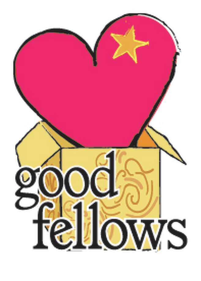 Goodfellows heart and package logo 1 col with words