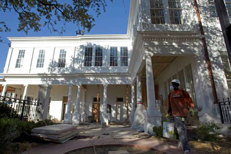 7. Austin, Texas:Renting is 68 percent of the cost of owning, above the historical level of 58 percent and the tipping point of 60 percent. The Texas governor's mansion, shown here, is not for rent or sale. Photo: Johnny Hanson / © 2011 Houston Chronicle