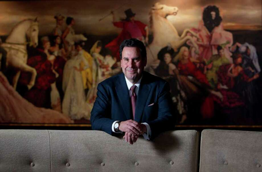 "Johnny Hanson : Chronicle LOCAL STYLE: Steve Sadove, chief executive officer of Saks, says shoppers in the Houston area ""are very eclectic with a fashion-forward sensibility."" Photo: Johnny Hanson / © 2011 Houston Chronicle"