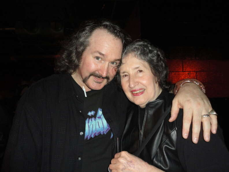 James and June Wolfe were Seen at the Spinal Tap tribute concert to benefit the Chris Ryan Art Schol