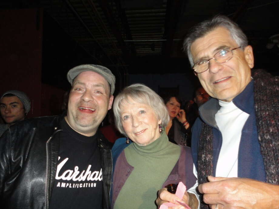 Geoff Ryan and Marilyn and Richard Hamecher were Seen at the Spinal Tap tribute concert to benefit the Chris Ryan Art Scholarship on Friday, Nov. 11, at Valentine's in Albany? Photo: Sarah Hinman Ryan