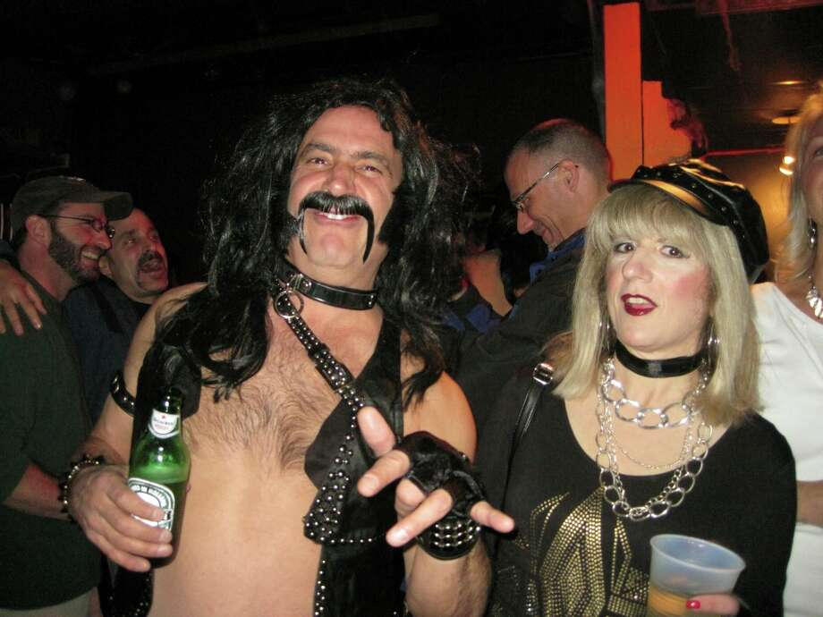 Derek Smalls and a special friend were Seen at the Spinal Tap tribute concert to benefit the Chris Ryan Art Scholarship on Friday, Nov. 11, at Valentine's in Albany? Photo: Sarah Hinman Ryan