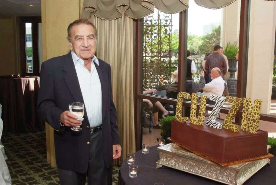 Fred Rizk was a leader in Houston's Lebanese-American community. Photo: Jeff Grass